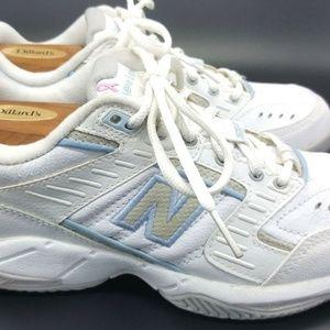 cámara Enseñando Maravilla  New Balance Shoes | New Balance 653 White Tennis Shoes Womens 9 B | Poshmark